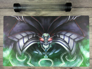 Yu-Gi-Oh! Exodia, The Destroyer Custom Playmat TCG Mat Free High Quality Tube