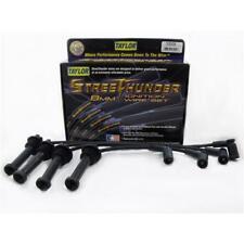 Taylor Spark Plug Wire Set 53009; Street Thunder 8mm Black for Ford 4 Cylinder