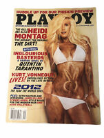 Playboy September 2009 Heidi Montag Magazine Muddy Bunny Collectible