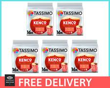 BULK BUY TASSIMO Kenco Americano Grande Coffee Pods / 80 SERVINGS