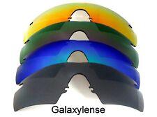 GALAXY Ricambio Lenti Oakley M Frame 2.0 STRIKE NERO & BLU & VIOLA & ROSSO 4 PS
