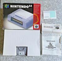 N64 Controller Pak Complete in Box Nintendo 64 Memory Card w/ Manual VG