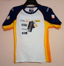 TEAM RENAULT 2008 ING F1 FORMULA ONE LADIES T SHIRT S OFFICIAL MERCHANDISE BNWT