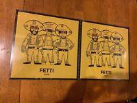 """CURREN$Y FREDDIE GIBBS ALCHEMIST FETTI 12"""" LP  0/300 LOLLIPOP PURPLE (ALT COVER)"""