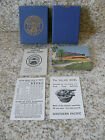 1940s Southern Pacific Railroad Daylight Playing Cards Scenic Complete FREE Ship