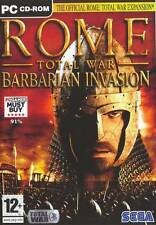 Rome Total War: Barbarian Invasion - Official Expansion Pack PC 100% Brand New