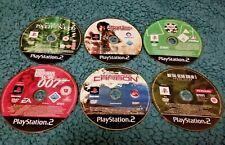 Joblot 6 Sony PS2 PAL Games inc. Metal Gear Solid, NFS, Poker, Matrix + 007 Good
