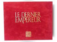 Le Dernier Empereur Coffret Collector numéroté N° 5092 complet
