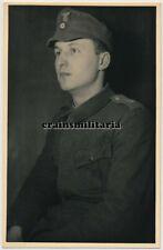 Orig. Foto AK Portrait Soldat m. Mütze Heilbronn 1935