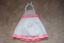 Janie and Jack Riviera Vacation Halter Dress 12-18 m EUC Girls
