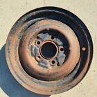 Chevroletgmpontiac16x4 Wheel 5 Lug 5.5 Vintagechevy Riveted Steel T4