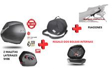 KIT SHAD fijacion 3P + maletas laterales SH36 + bolsas BMW S1000XR (15-17)