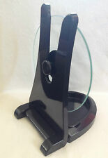 1 Universal Saucepan Lid Holder & 1 Glass Bacon Press Clean Help in the Kitchen