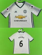 adidas Manchester United - Away Shirt 2016-17 Paul POGBA No.6 YOUTH 9-10y S.Boys