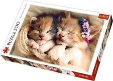 Sleeping Kittens ~ 500 Piece Jigsaw Puzzle Trefl