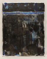 No.940 Original Abstract Modern Minimal Urban Textured Painting By K.A.Davis