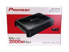 Pioneer GM-D9705 Car Audio 5-Channel Bridgeable Amp Amplifier 2000W  Power  New