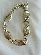 Brighton TWIRL TWIST  silver preowned bracelet