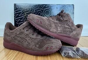 Ronnie Fieg x Asics Gel Lyte III 3 The Palette Saddle KITH Men's Size 8.5 DS