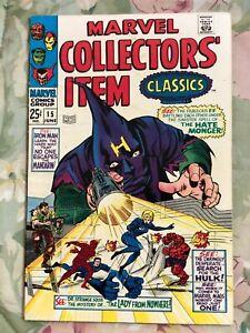 Marvel Collectors' Item Classics No. 15. 1968