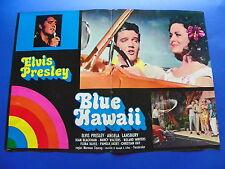 FOTOBUSTA BLUE HAWAII ELVIS PRESLEY ANGELA LANSBURY NANCY WALTERS HAYES RARA 1F6