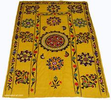 antik afghan wandbehang Suzani Decke Tuch Usbek decorative tribal textile SZ-27