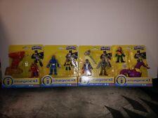 New Imaginext DC Super Friends Lot Steel Aquaman Darkseid Red Tornado Metallo