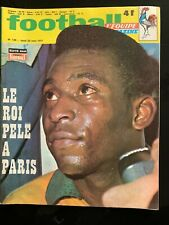 Football Magazine n°135 du 03/1971; Pelé à Paris/ Espagne-France 2-2/ Bereta