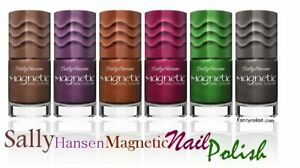 Sally Hansen Magnetic Nail polish, choose your color --Free Shipping