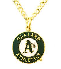 Oakland Athletics MLB Logo Necklace