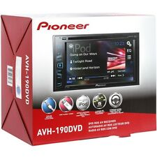 "Pioneer AVH190DVD Double DIN In-Dash DVD/CD/AM/FM Car Stereo w/ 6.2"" Display"