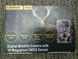 Brand New  Campark 2020 Upgrade Trail Camera-Waterproof 16MP 1080P