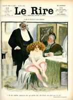 Le Rire Vintage French Magazine 1905  115 Years Great Old Humor Magazine  Look