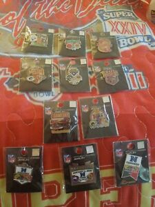 49ERS COMPLETE 2019 2020 GAME DAY SET ALL 11 PINS