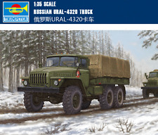 Trumpeter 1/35 01012 Russian URAL-4320 Truck Model Kit