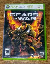 2 XBOX 360 GAMES GEARS OF WAR 1 COMPLETE & GEARS OF WAR 3 W/ STICKERS NO MANUAL