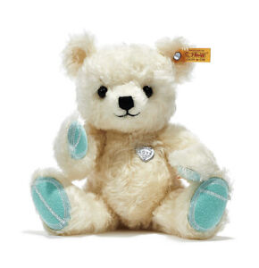"10.5"" Tiffany & Co Steiff Return to Tiffany Love Teddy Bear Limited White"