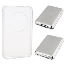 For Apple Ipod Classic 80 GB Clear Crystal Hard Case Protector Front Back Cover.