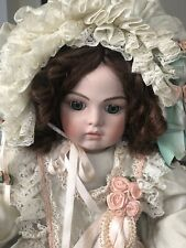 Patricia Loveless Antique Reproduction Bru Porcelain Doll 279/2000 28""