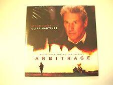 ARBITRAGE Movie CD Soundtrack Cliff Martinez For Promotional Use Only 25 Tracks