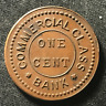 Canada 1916 One Cent Commercial Class Bank Bowman 3847f