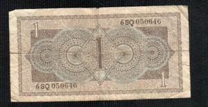 NETHERLAND 1 GULDEN  1943