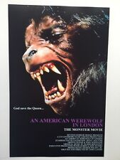An American Werewolf in London Theatrical Release 11x17 Movie Poster (1981)