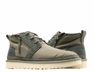 UGG Australia Neumel Zip MLT Military Green Men's Chukka Boots 1102430-MYGR