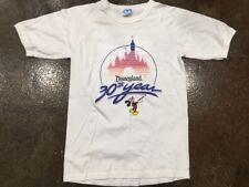 Vintage 80s Disneyland Anniversary T Shirt Medium USA Made Cotton Mickey Mouse