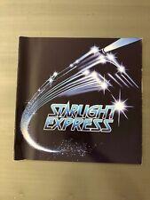 STARLIGHT EXPRESS Apollo Victoria London West End Souvenir Program 1987