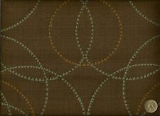 Maharam Periphery Teak Brown Modern Contemporary Geometric Upholstery Fabric