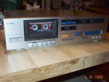 TEAC Cassette Tape Deck Model V-330 Stereo Dolby Player Recorder Vintage Works