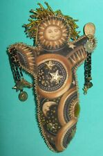 Sun Goddess 8 Inch Spirit Doll-Mother of the Stars-Embellished Cloth -Alter Doll