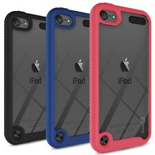 CoverON Apple iPod Touch 5 / 6 / 7 Heavy Duty Clear Phone Case Rugged Hard Cover